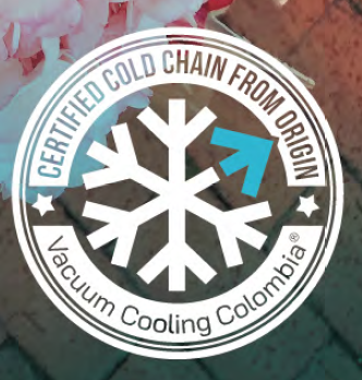 Certified cold chain - Vacuum Cooling Colombia